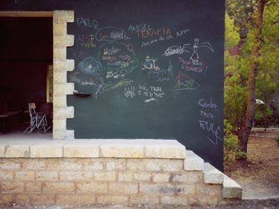 V ronique joumard mur tableau - Tableau noir a accrocher au mur ...
